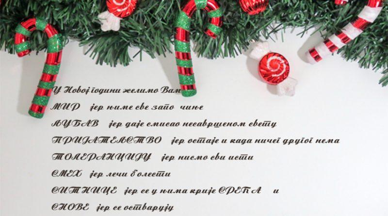 Пауза за време новогодишњих и божићних празника