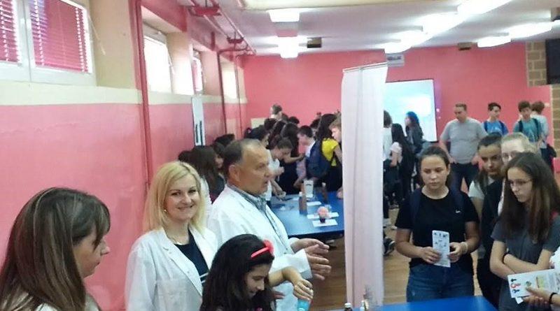 """Фестивал науке у основној школи """"Карађорђе"""" у Рачи"""