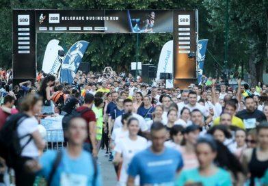 "Наша школа учествовала на трци ""SBB Belgrade Business Run"""